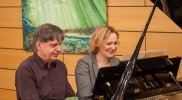 Am Klavier: D. Schwarz und H.- J. Spelmans