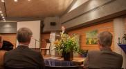 Pfarrer i.R. Martin Letschert bei der Festrede
